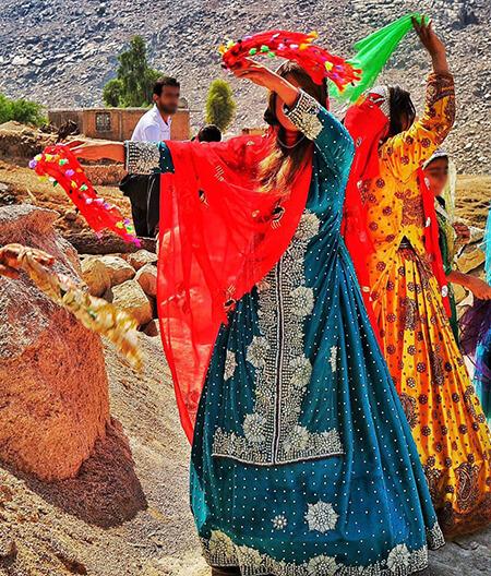 شیک ترین مدل لباس بختیاری زنانهbakhtiari women clothing