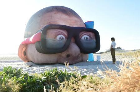 عکس های روز ازلباس های عجیب و غریب در جشن مت گالا تاجشنواره مجسمه های بزرگ sculpture