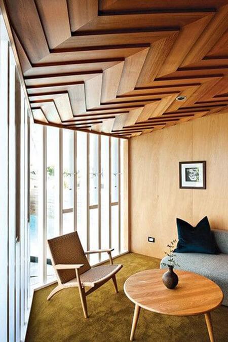 همه چیز درباره سقف چوبی wooden roof