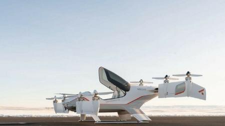 اولین تاکسی پرنده سیتی ایرباس برقی شرکت ایرباس رونمایی شد