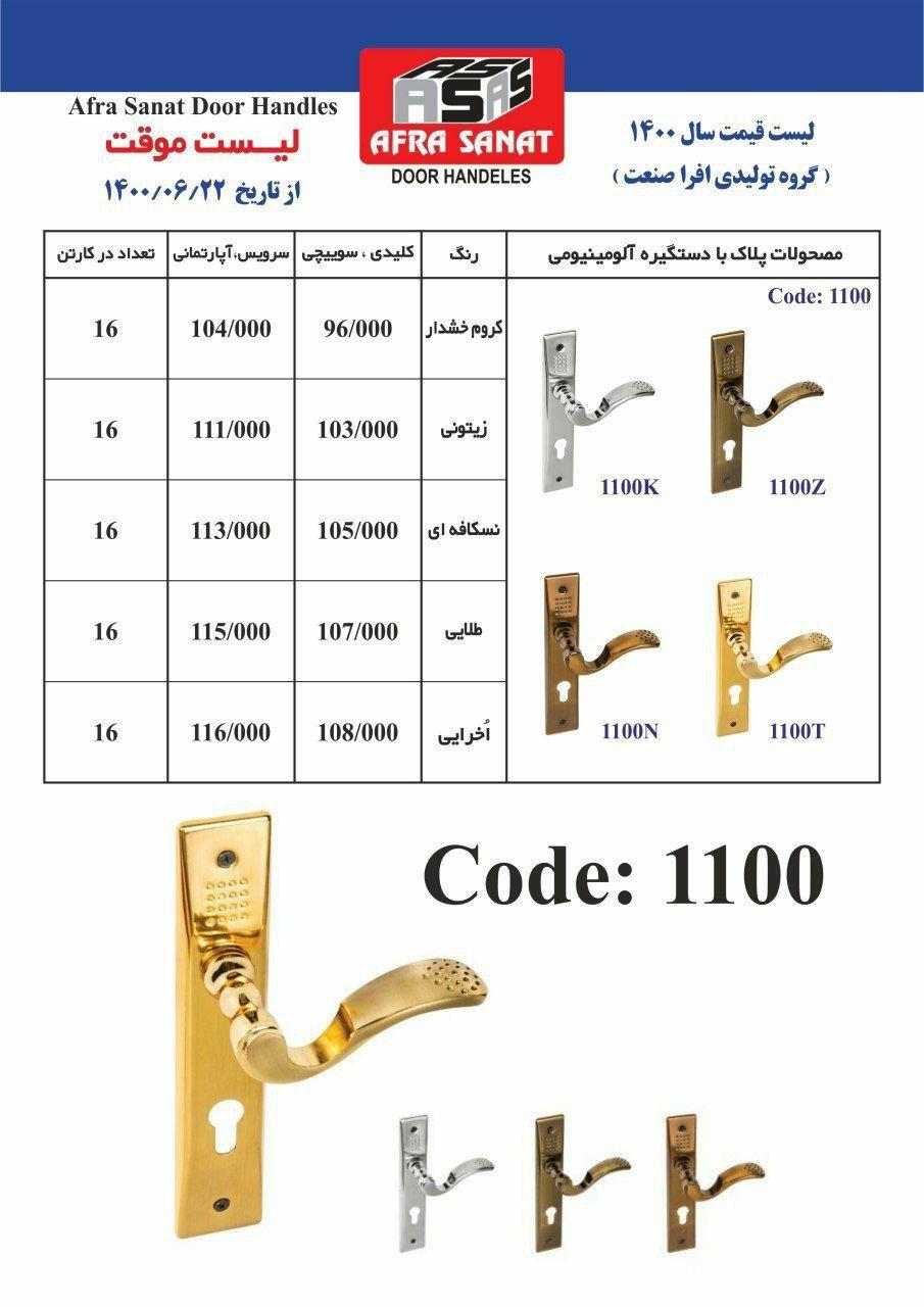 کد 1100 کلیدی، سوئ