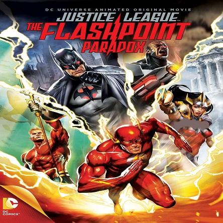 دانلود انیمیشن لیگ عدالت: پارادوکس فلش پوینت - Justice League: The Flashpoint Paradox 2013